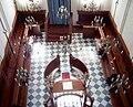 Veduta dal Matroneo Interno Sinagoga Ebraica Pitigliano.jpg