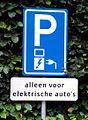 Verkeersbord Elektrische auto1.jpg