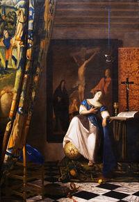 Johannes vermeer wikip dia - Geloof peinture ...