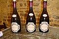 Vertical bottles of Pommard wine.jpg
