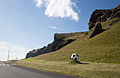 Vestmannaeyjar, road towards the football playing field.jpg
