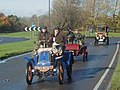 Veteran Cars start to climb Pease Pottage Hill - geograph.org.uk - 83660.jpg