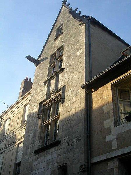 """Maison des """"Trois Clous"""" ou Maison de Charles VII (Grande-Rue 118), à Poitiers"""