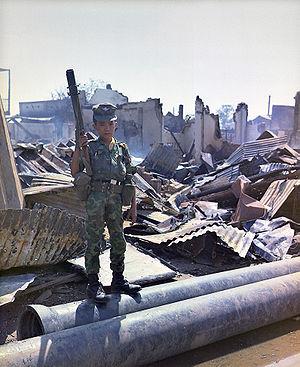 ARVN çocuk askeri (maskot)