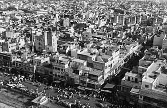 History of Delhi - A view of the Old City