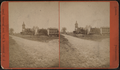 View of a streets and large buildings, New Milford, by Landon, S. C. (Seth C.).png