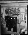 View of exciter control panel. - Dam No. 4 Hydroelectric Plant, Potomac River, Martinsburg, Berkeley County, WV HAER WVA,2-SHEP.V,1-62.tif