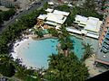 View of hotel pool.JPG