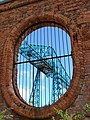 View of the Transporter Bridge Through an Opening in the Vulcan Street Wall - geograph.org.uk - 216889.jpg