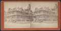 View of tourists in front of the hotel, from Robert N. Dennis collection of stereoscopic views.png
