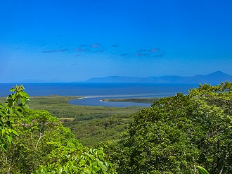 Far North Queensland - View from Daintree National Park, 2009