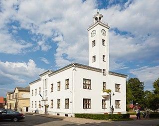 Viljandi Town in Estonia