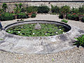 Villa corsini di mezzomonte, giardino all'italiana, terrazza inferiore 11 fontana.JPG