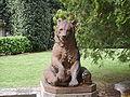 Villa finaly statua orso 01.JPG