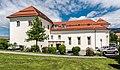 Villach Burgplatz 1 Villacher Burg mit Kapelle SO-Ansicht 10052017 8405.jpg