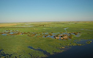 Caprivi Strip - Village in the Caprivi Strip
