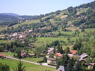 Ville-en-Sallaz Commune in Auvergne-Rhône-Alpes, France