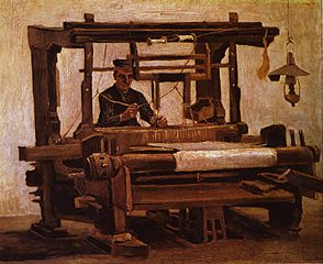 Weaver at the Loom