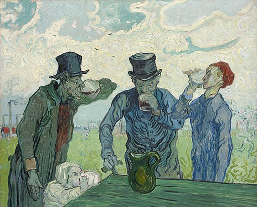 Vincent van Gogh - The Drinkers - 1953.178 - Art Institute of Chicago