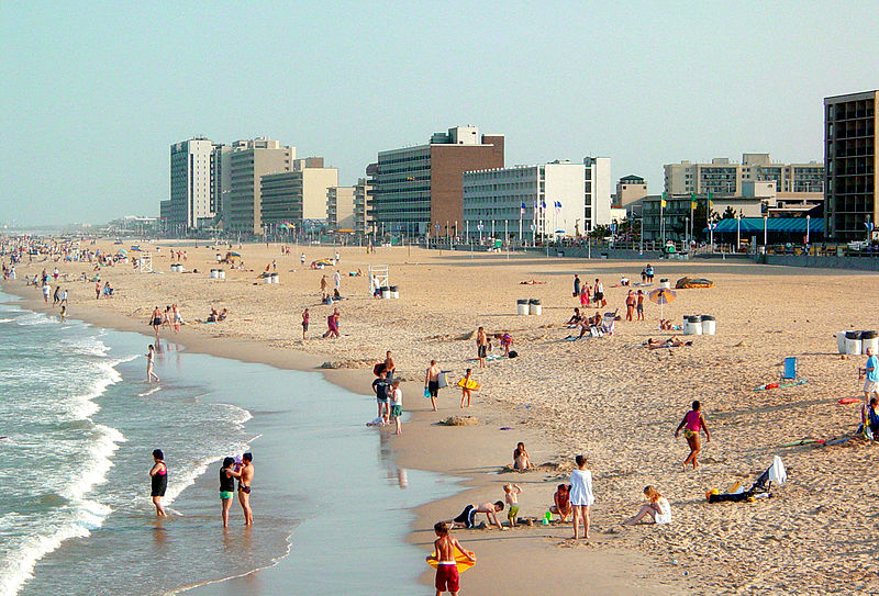 File:Virginia Beach from Fishing Pier.jpg