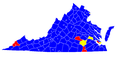 Virginia Democratic Gubernatorial Primaries, 2009.png