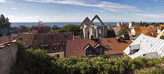 Visby Place in Gotland, Sweden