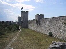 Visby, a medieval city on Gotland.