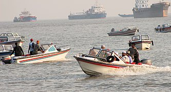 Visitors are riding on motorboats at Patenga Sea Beach (3).jpg