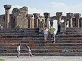 Visitors at Ruins of Zvartnots Cathedral - Near Yerevan - Armenia (18991262585).jpg