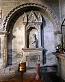 Viterbo, santa maria nuova, interno, tomba di carlo canestrari.jpg