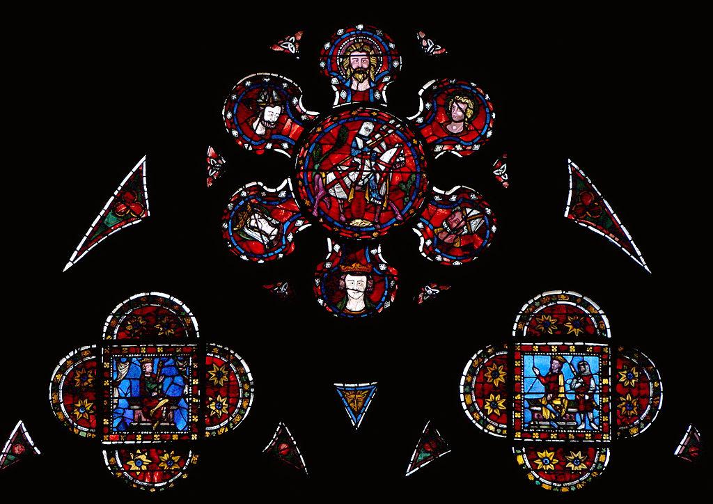 file vitrail de la chapelle saint georges cath drale de clermont wikimedia commons. Black Bedroom Furniture Sets. Home Design Ideas