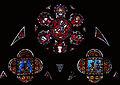 Vitrail de la chapelle saint Georges, cathédrale de Clermont-Ferrand.jpg