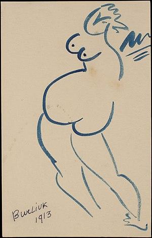 Wladimir Burliuk - Image: Vladimir Burliuk Femme Figure 1913