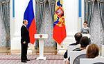 Vladimir Putin at award ceremonies (2016-03-25) 10.jpg