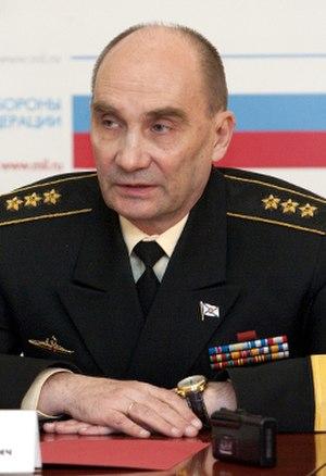 Vladimir Vysotskiy (admiral) - Admiral Vladimir Vysotskiy