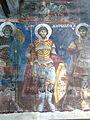 Voskopojë St.Nikolaos - Vohalle Fresko 2a Heilige.jpg