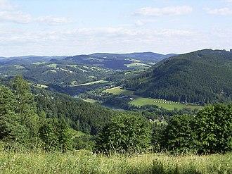 Jan Žižka partisan brigade - Hostýn-Vsetín Mountains, base of the Green Cadre