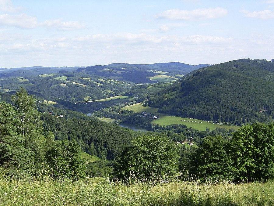 Hostýn-Vsetín Mountains