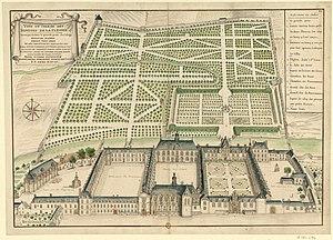 La Flèche - Collège La Flèche (1695)