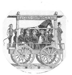 Cycloped - Flying Dutchman of the South Carolina Canal and Railroad Company, 1829