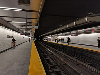 WTC Cortlandt station New York City Subway station in Manhattan