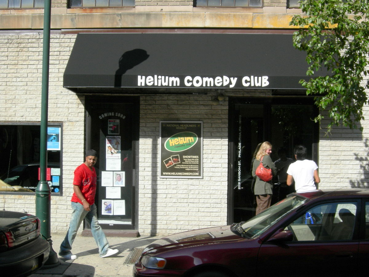 Helium comedy club wikipedia for Helium comedy club