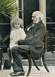 Catherine and William Gladstone