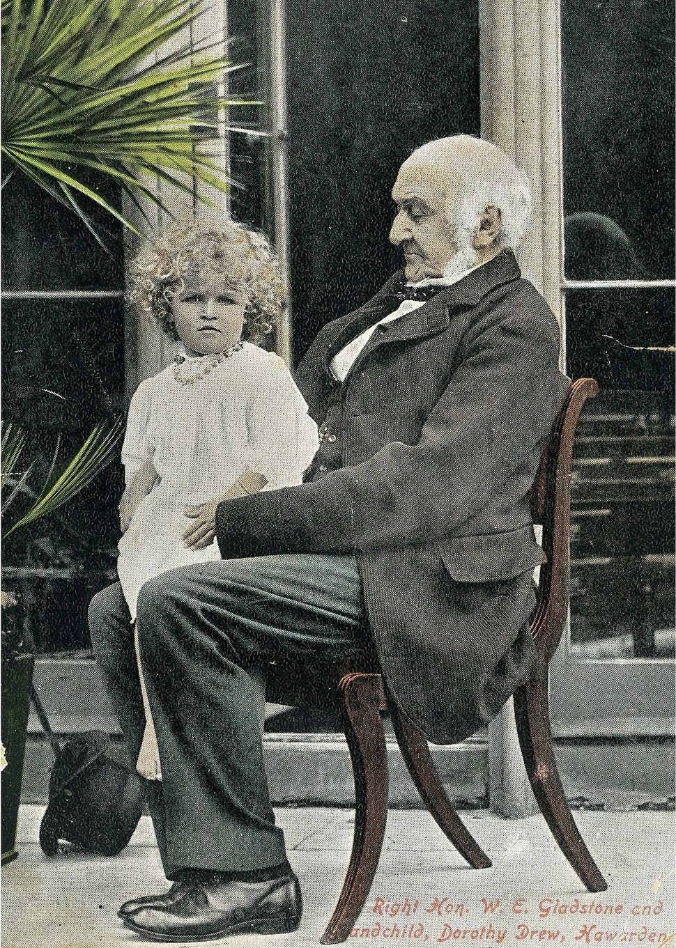 W E Gladstone and Dorothy Drew
