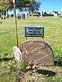 Wagle (John), Brush Creek Cemetery, 2015-10-26, 01.jpg