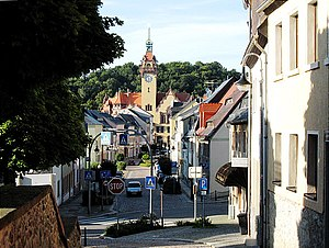 Waldheim, Saxony - Town center