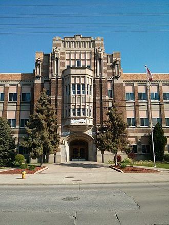 Walkerville Collegiate Institute - Image: Walkerville Collegiate