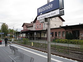 Station Walsrode in 2010