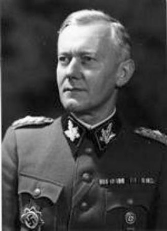 Walter Schimana - SS-Gruppenführer Walter Schimana