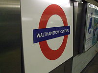 Walthamstow Central stn Victoria roundel.JPG